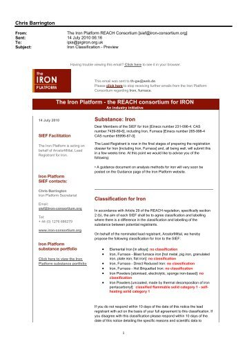 Microsoft Office Outlook - Memo Style - The Iron Platform