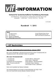 Rundbrief 1 / 2013 - Amt für Ernährung, Landwirtschaft und Forsten ...