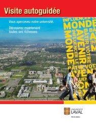 Visite autoguidée - Université Laval
