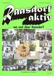 ... von und über Raasdorf - swebs.at