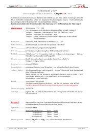 Reglement 2009 - Rennserien Süd