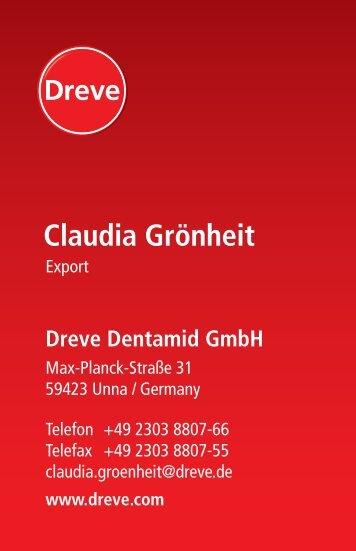 Claudia Grönheit