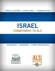 Israel: Commitment to ALS - ALS Worldwide