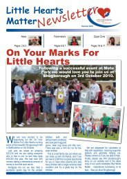 Newsletter - Little Hearts Matter