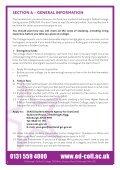 Student ServiceS - Edinburgh's Telford College - Page 4