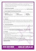 Student ServiceS - Edinburgh's Telford College - Page 7