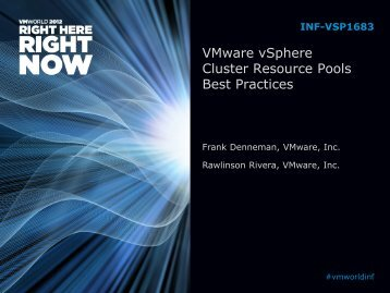 Resource Pool - VMware