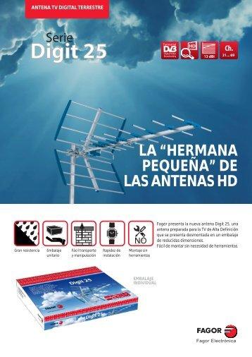 """LA """"HERMANA PEQUEÑA"""" DE LAS ANTENAS HD"""