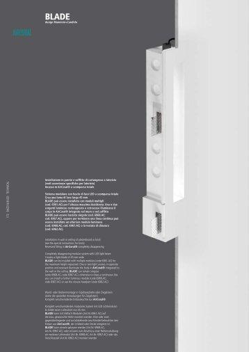 Installazione in parete e soffitto di cartongesso o ... - Buzzi & Buzzi