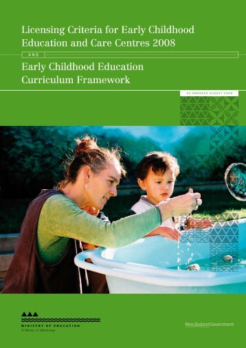 Licensing Criteria for Early Childhood Education and Care Centres ...