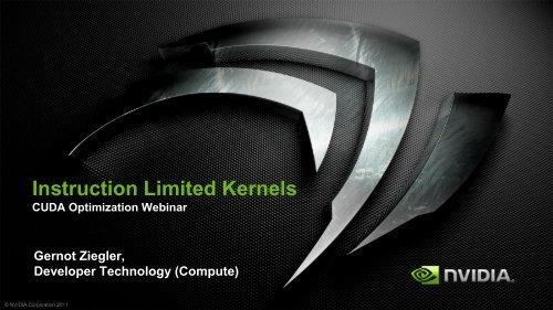 Instruction Throughput - GPU Technology Conference