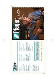 DVD-Cover Ausgabe 2-2012 - ACOUSTIC PLAYER