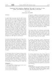 Comunicazione della Commissione - EUR-Lex - Europa