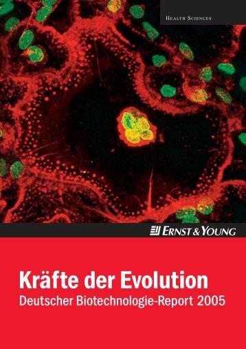 Kräfte der Evolution - Ernst & Young