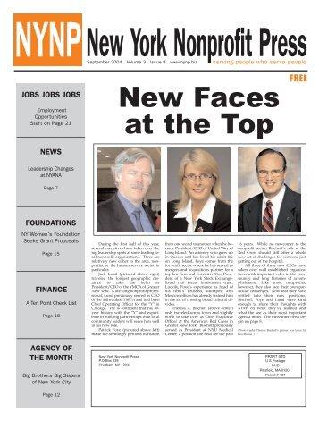 September Edition 2004 - New York Nonprofit Press