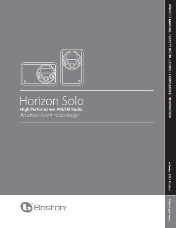 Horizon Solo