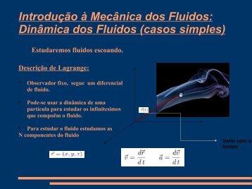 Introdução à Mecânica dos Fluidos: Dinâmica dos ... - CEUNES