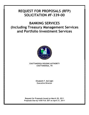 Solicitation No E 345 00 Public Housingtax Credit Compliance Auditor