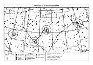 Aufsuchkarte Messier 31