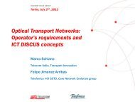 Optical Transport Networks - Towards Real Energy-efficient Network ...