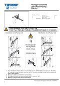 Handleiding Ergo F - Twinny Load - Page 4