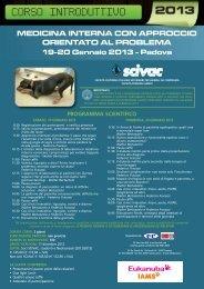 Corso introduttivo 19-20 gennaio 2013 POA:ok - SCIVAC