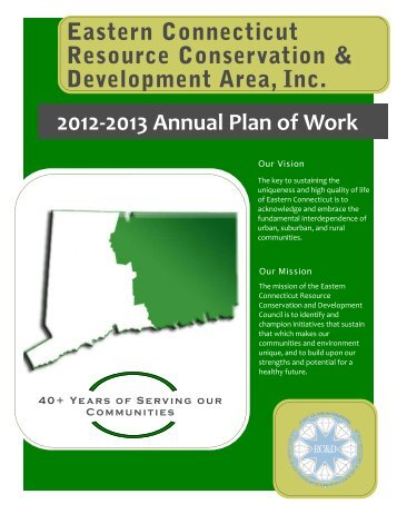 Annual Plan of Work for 2012 - 2013 - Eastern Connecticut RC&D ...