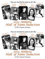 2012 Athletic Hall of Fame Induction 2012 Athletic Hall of Fame ...