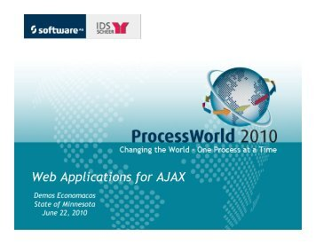 Web Applications for AJAX - Empower