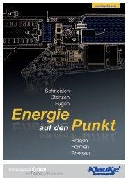 auf den Punkt auf den Punkt - Gustav Klauke GmbH