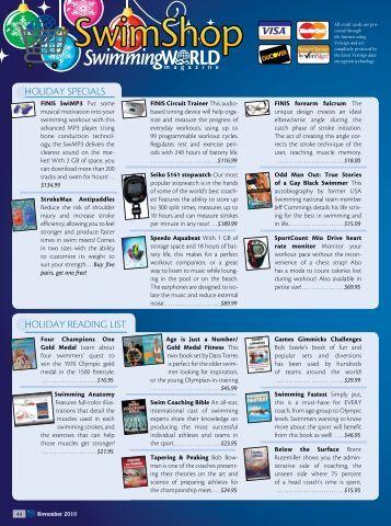 SwimShop - Swimming World Magazine