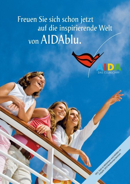 von AIDAblu. - AIDA Cruises