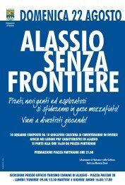 alassio senza frontiere 2010 - locandina.cdr - Comune di Alassio