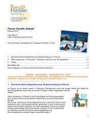 Forum Familie aktuell Februar 2014 - Gemeinde Elixhausen