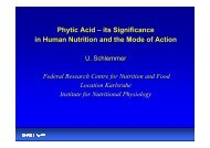 Phytic Acid – its Significance in Human Nutrition and the Mode of ...
