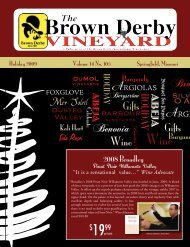 2008 Broadley - Brown Derby International Wine Center