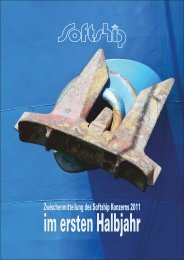 Softship Konzern Zwischenmitteilung 1. Halbjahr 2011 - Softship.com