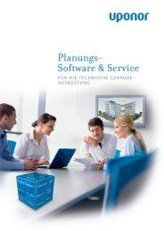 Broschüre: Softwareangebot - Uponor