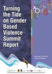 Turning the Tide on Gender Based Violence Summit Report - SAfAIDS