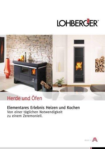 zentralheizungsherde von lohberger. Black Bedroom Furniture Sets. Home Design Ideas