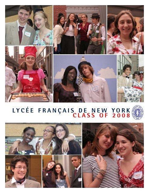 LYCÉE FRANÇAIS DE NEW YORK CLASS OF 2008