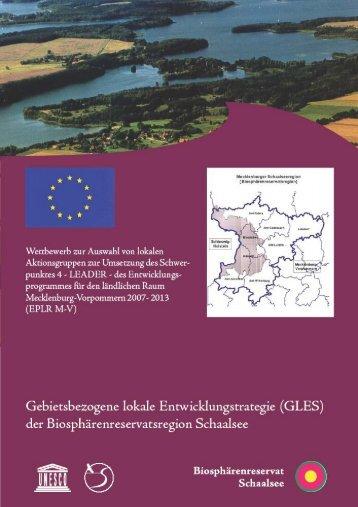 GLES - Gebietsbezogene Lokale ... - Mecklenburger Schaalseeregion