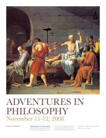 ADVENTURES IN PHILOSOPHY