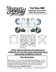 Installation Instructions - Right Stuff Detailing