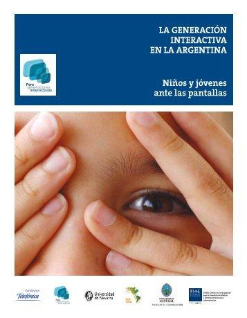 Informe Generación Interactiva Argentina - IAE Business School