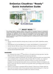 EnGenius Cloudtrax Ready Quick Installation Guide - WiFi Shop