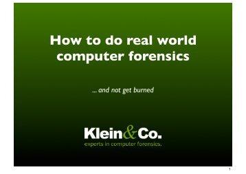 Forensic - 2010