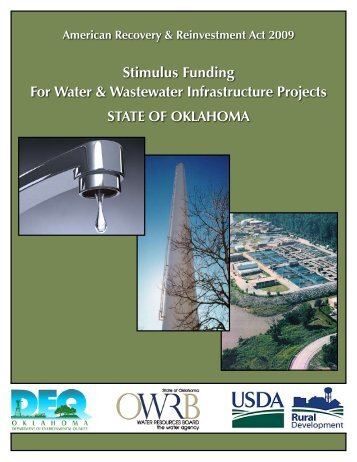 Stimulus Funding For Water & Wastewater Infrastructure Projects