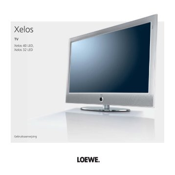 TV Xelos 40 LED, Xelos 32 LED - Loewe