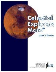 Celestial Explore: Mars User Guide - Reading Information ...